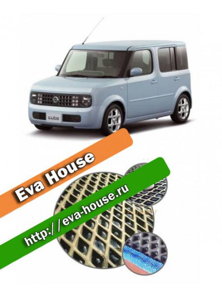 Автоковрики для Nissan Cube II (Z11, правый руль; 2002-2008)