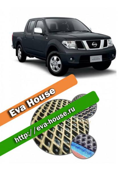 Автоковрики для Nissan Navara (D40; 2005-н.в.)