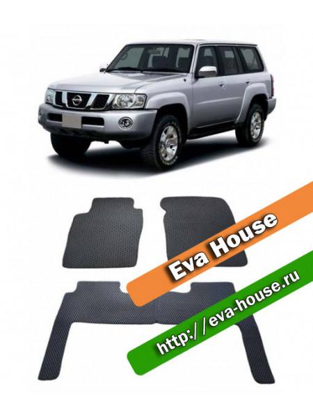 Автоковрики для Nissan Patrol (Y61; 1997-2004)