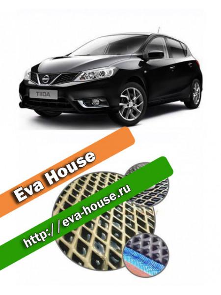 Автоковрики для Nissan Tiida II (C13; 2015-н.в.)