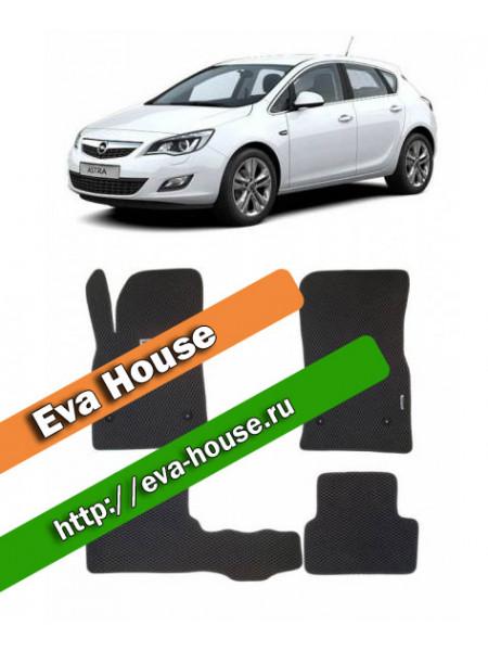 Автоковрики для Opel Astra J (2010-н.в.)