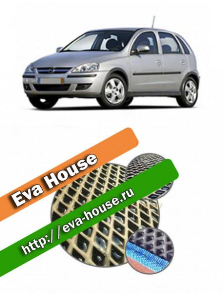 Автоковрики для Opel Corsa C (2000-2006)