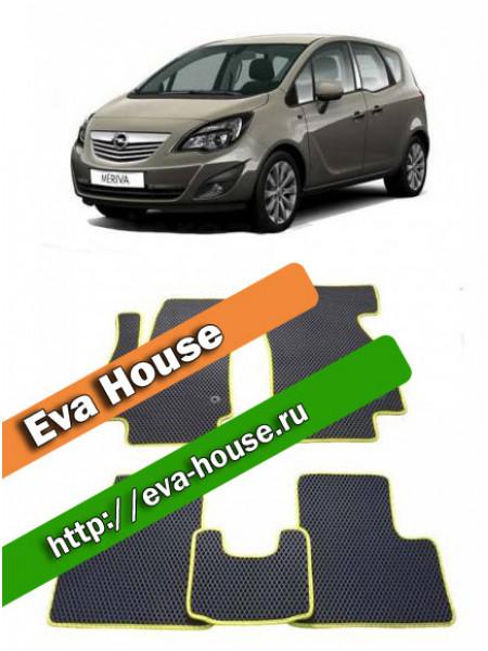 Автоковрики для Opel Meriva B (2010-2014)