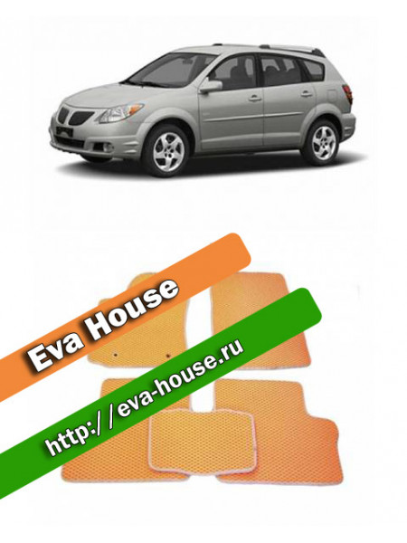 Автоковрики для Pontiac Vibe I (2002-2008)