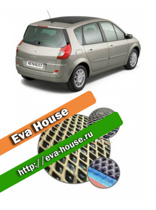 Автоковрики для Renault Scenic II (2003-2010)