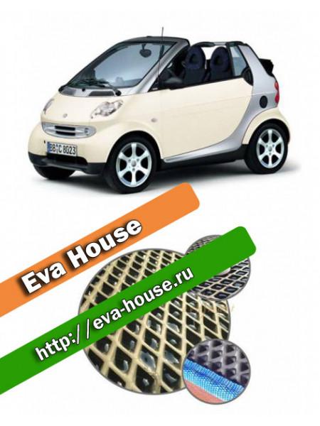 Автоковрики для Smart Fortwo I (450; 1998-2007)