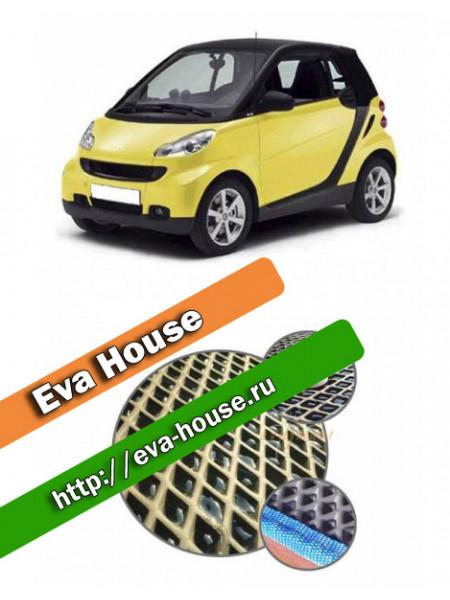 Автоковрики для Smart Fortwo II (451; 2007-н.в.)