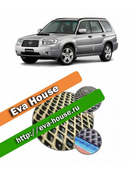 Автоковрики для Subaru Forester II (SG; 2003-2008)