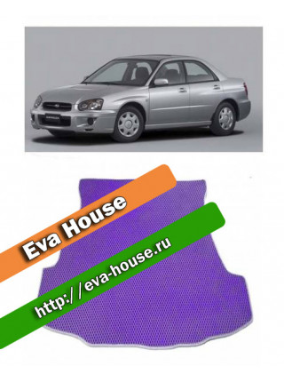 Автоковрики для Subaru Impreza II (2002-2007)