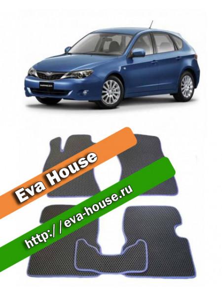 Автоковрики для Subaru Impreza III (2007-2011)