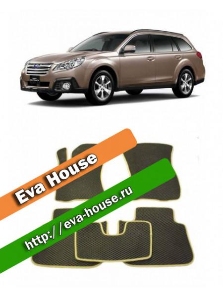 Автоковрики для Subaru Outback IV (2009-2013)