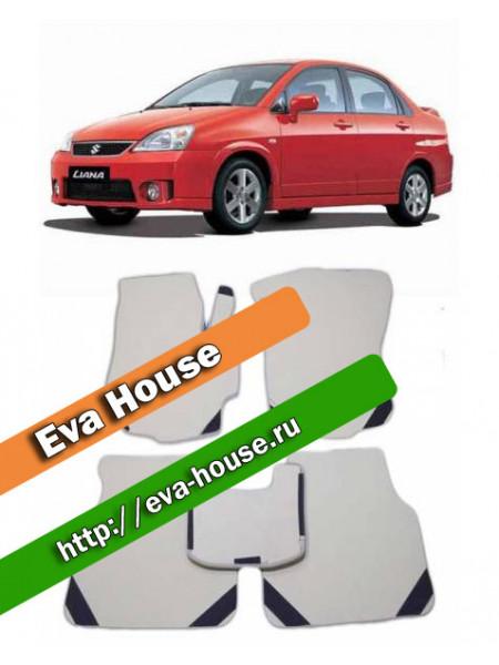 Автоковрики для Suzuki Liana I (ER; 2001-2008)