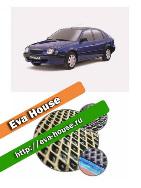 Автоковрики для Toyota Corolla (E110; 1997-2000)