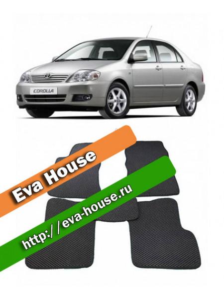 Автоковрики для Toyota Corolla (E120/E130; 2001-2007)