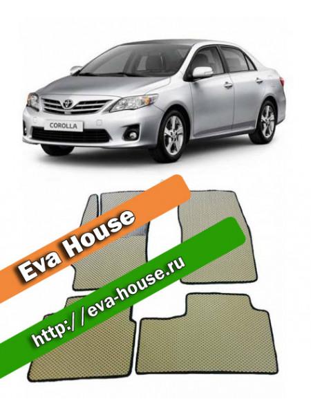 Автоковрики для Toyota Corolla (E140/E150; 2006-2013)