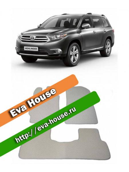 Автоковрики для Toyota Highlander II (U40; 2007-2013)