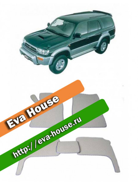 Автоковрики для Toyota Hilux Surf III (1997-2002)