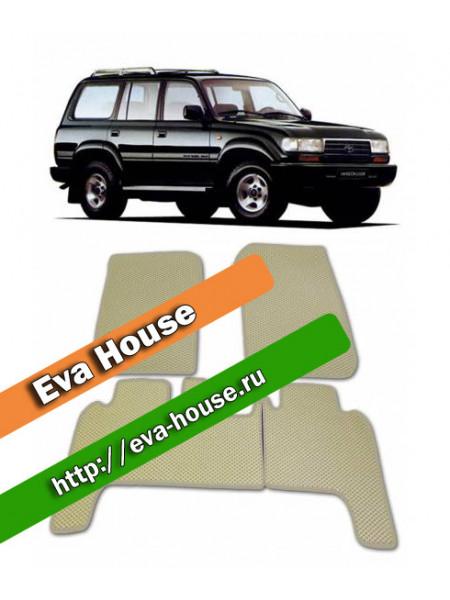 Автоковрики для Toyota Land Cruiser 80 (1989-1997)
