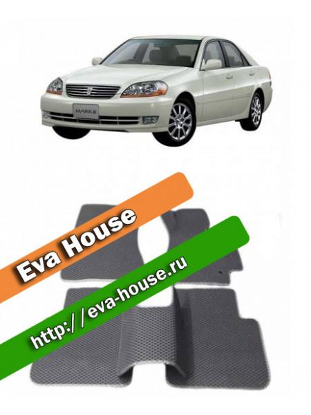Автоковрики для Toyota Mark II правый руль (X110; 2000-2007)