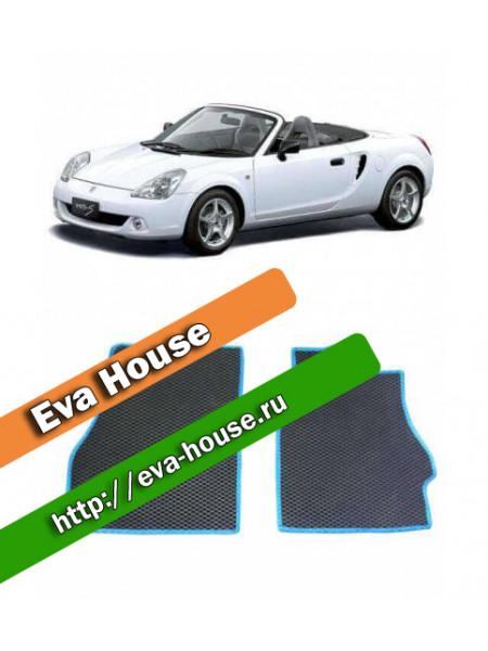 Автоковрики для Toyota MR-S правый руль (W30; 1999-2007)