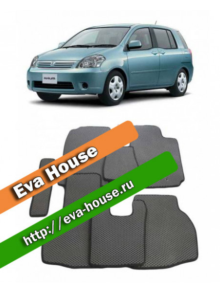 Автоковрики для Toyota Raum II (2003-2011)