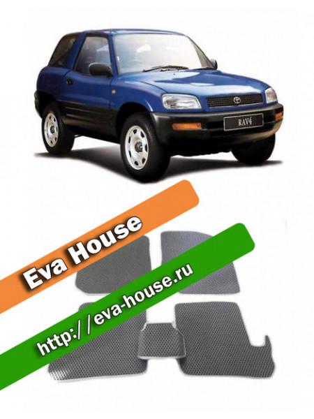 Автоковрики для Toyota RAV4 I 3d (XA10; 1994-2000)