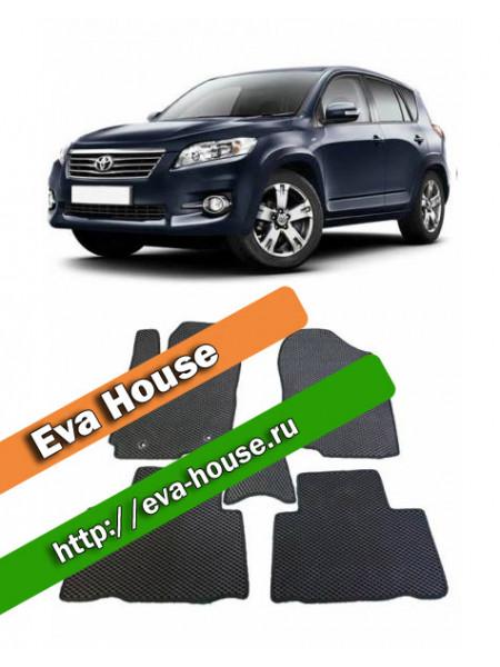 Автоковрики для Toyota RAV4 IV рестайл (CA30; 2010-2012)