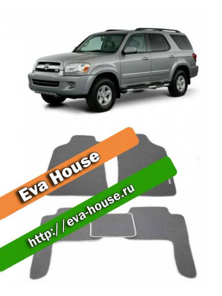 Автоковрики для Toyota Sequoia I (2000-2007)