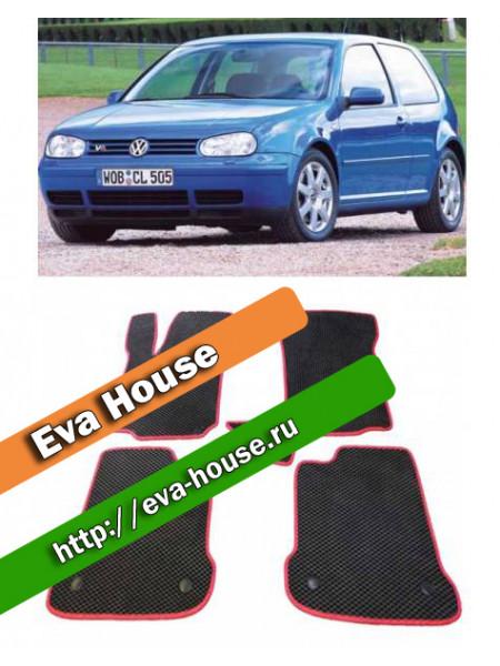 Автоковрики для Volkswagen Golf IV 3d (1997-2003)