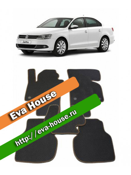 Автоковрики для Volkswagen Jetta VI (2010-н.в.)