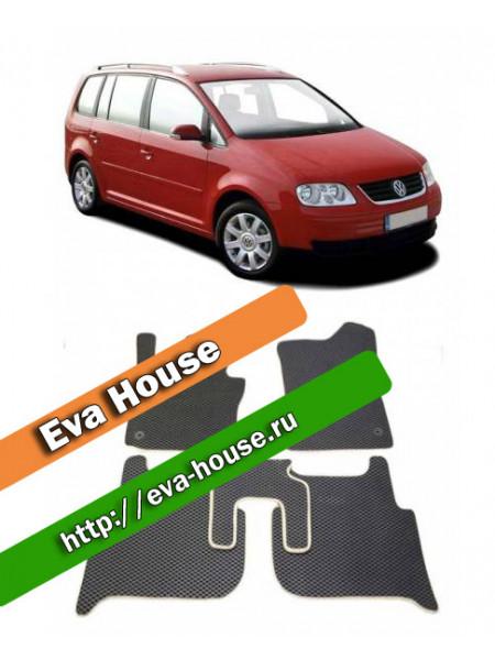 Автоковрики для Volkswagen Touran I (2006-2010)